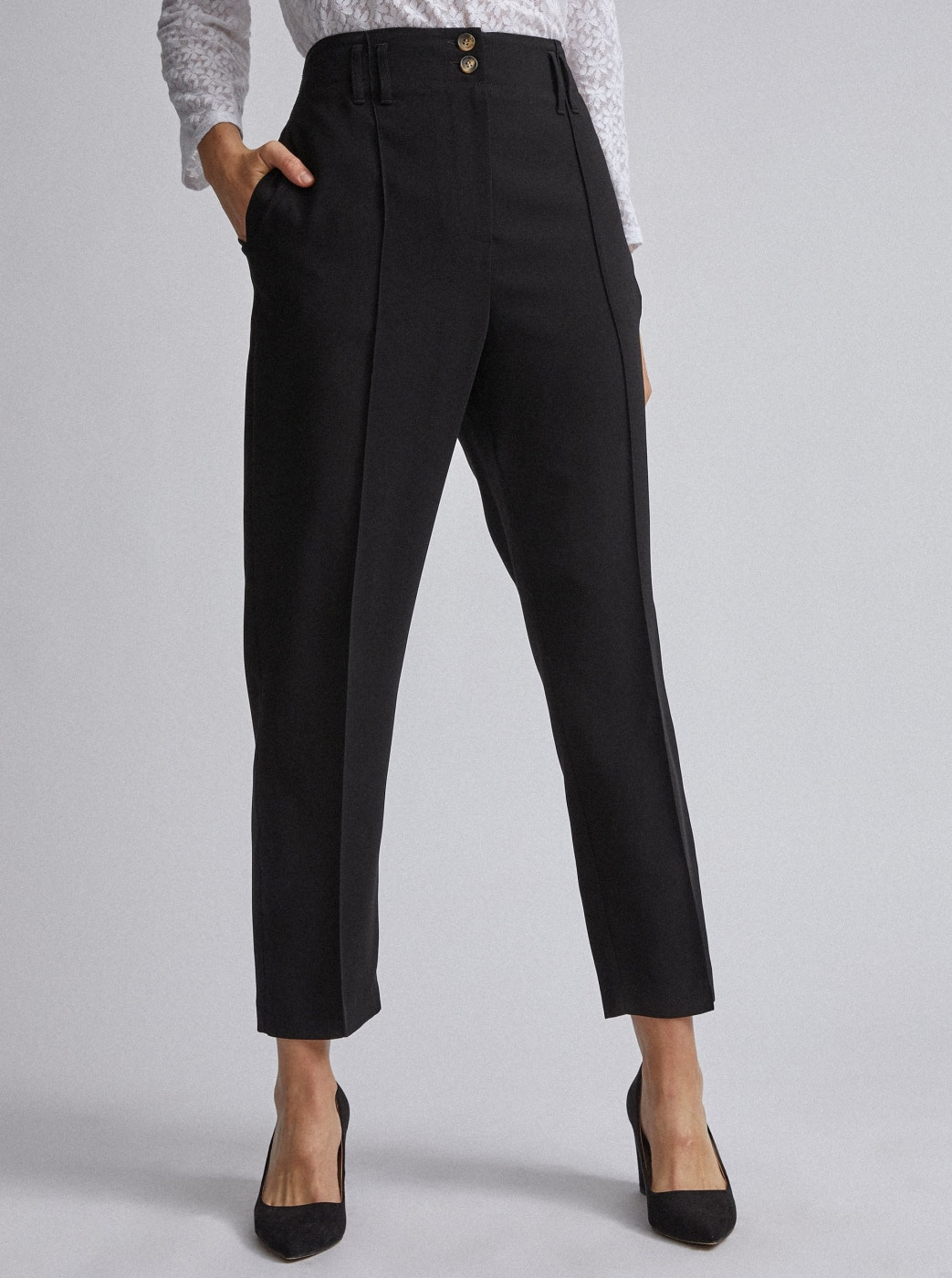 Black Trousers By Dorothy Perkins