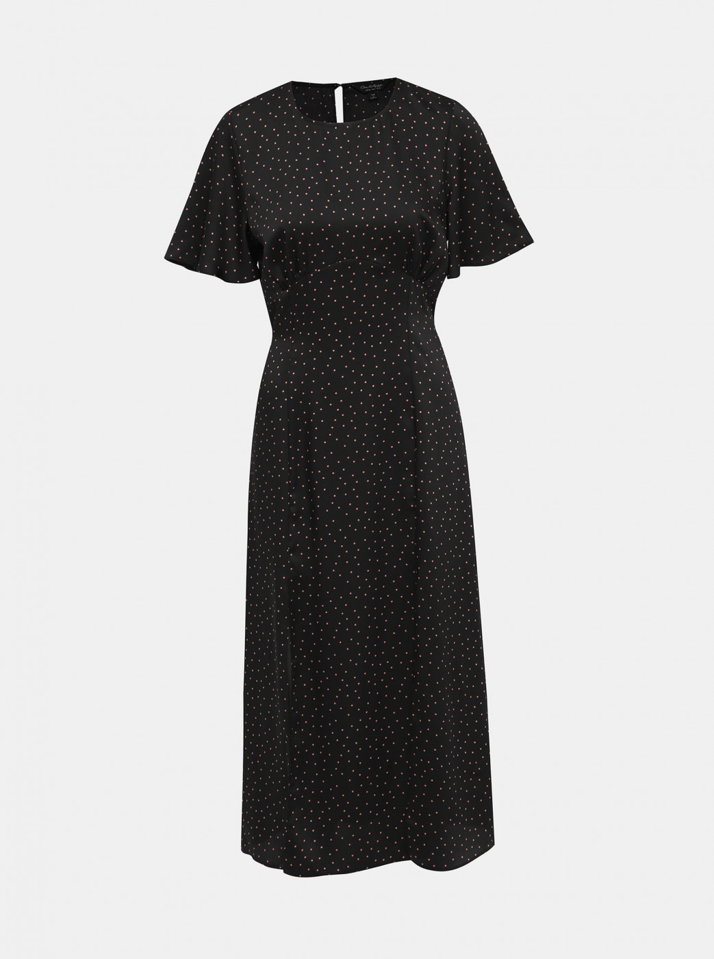 Miss Selfridge's Black Polka Dot Maxi Dress