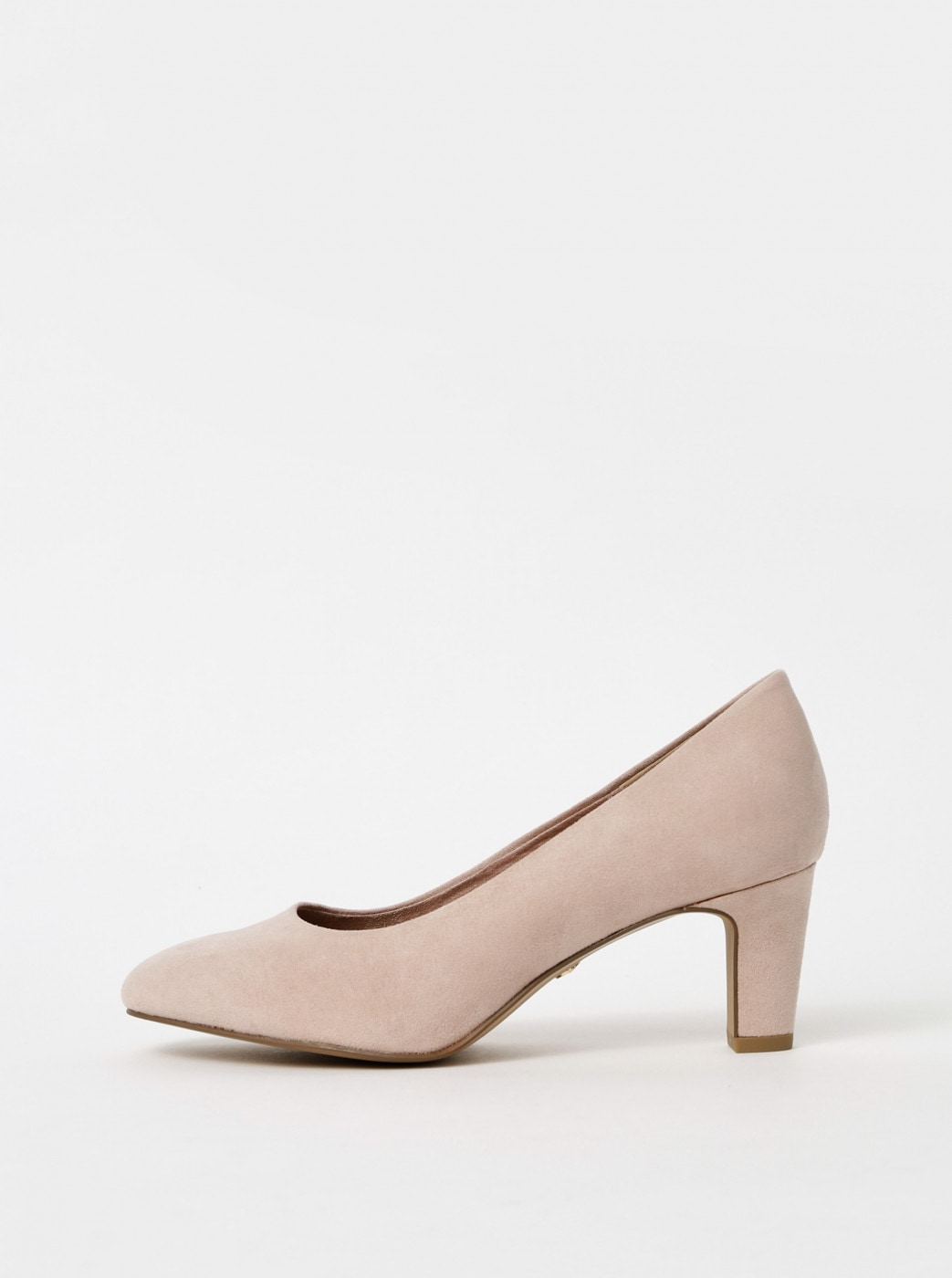 Tamaris suede pink pumps