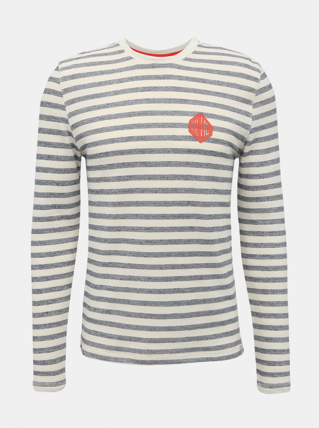 Blue-cream lightweight sweatshirt printed WITH ONLY & SONS Chai