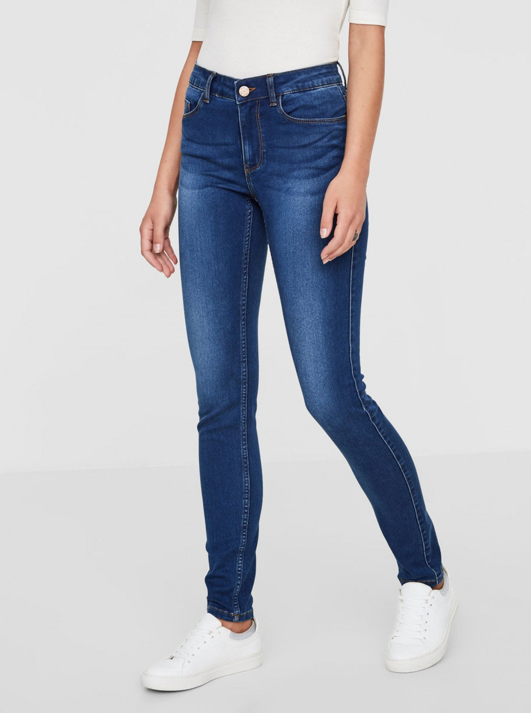 Noisy May Extreme Blue Slim Fit Jeans