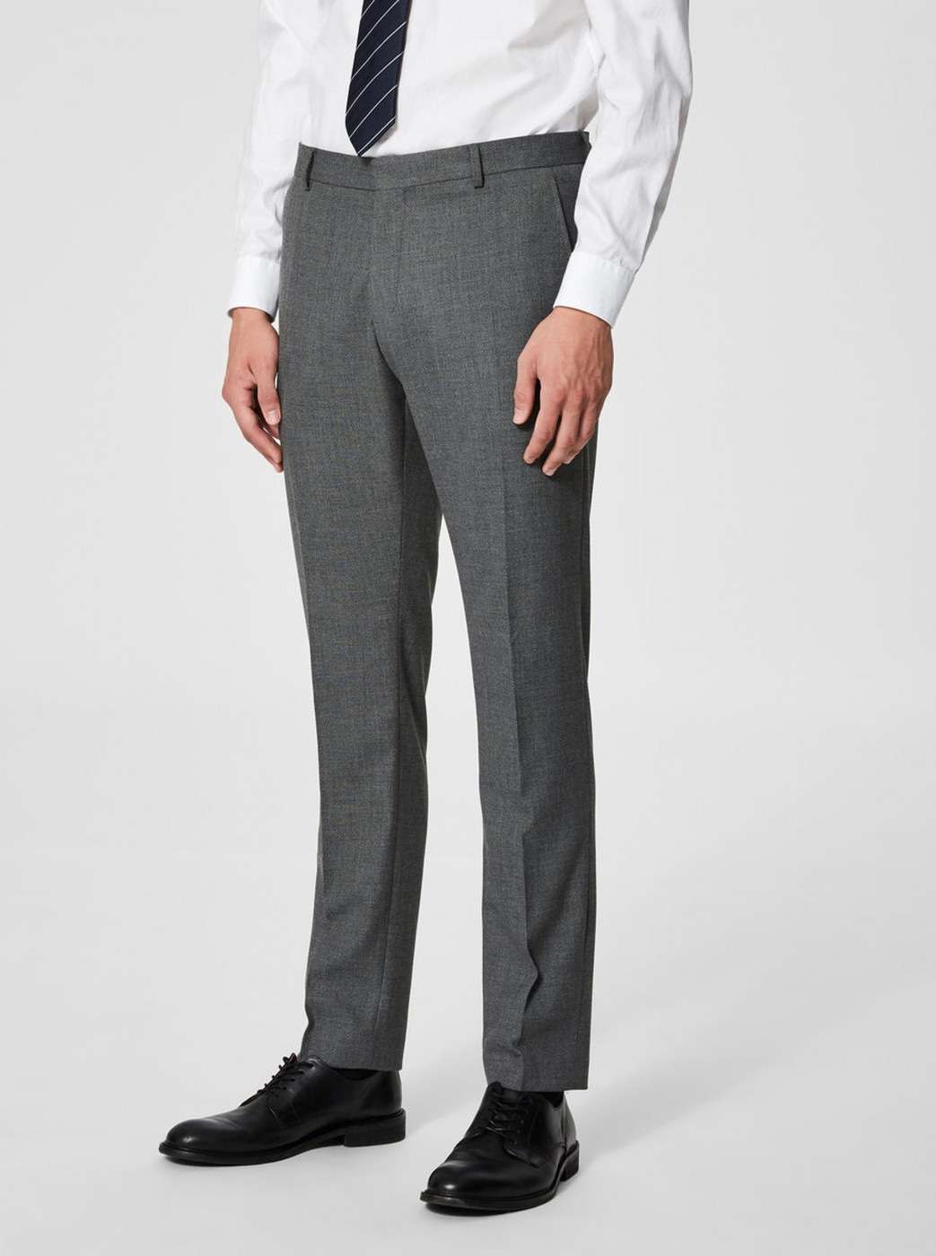 Grey Suit Pants Selected Homme