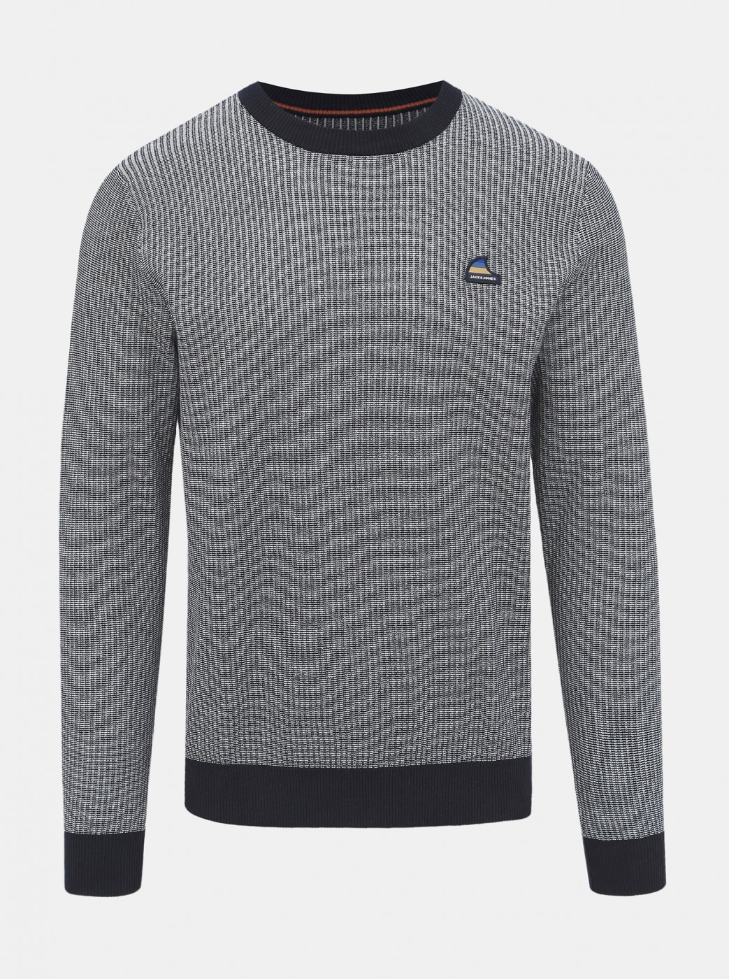 Grey Patterned Jack & Jones Neil Sweater
