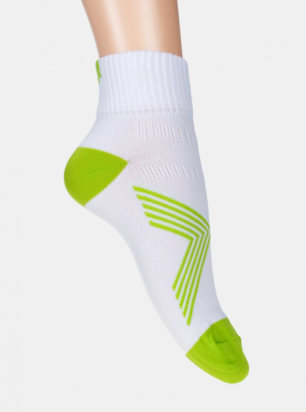Marie Claire White Ankle Socks