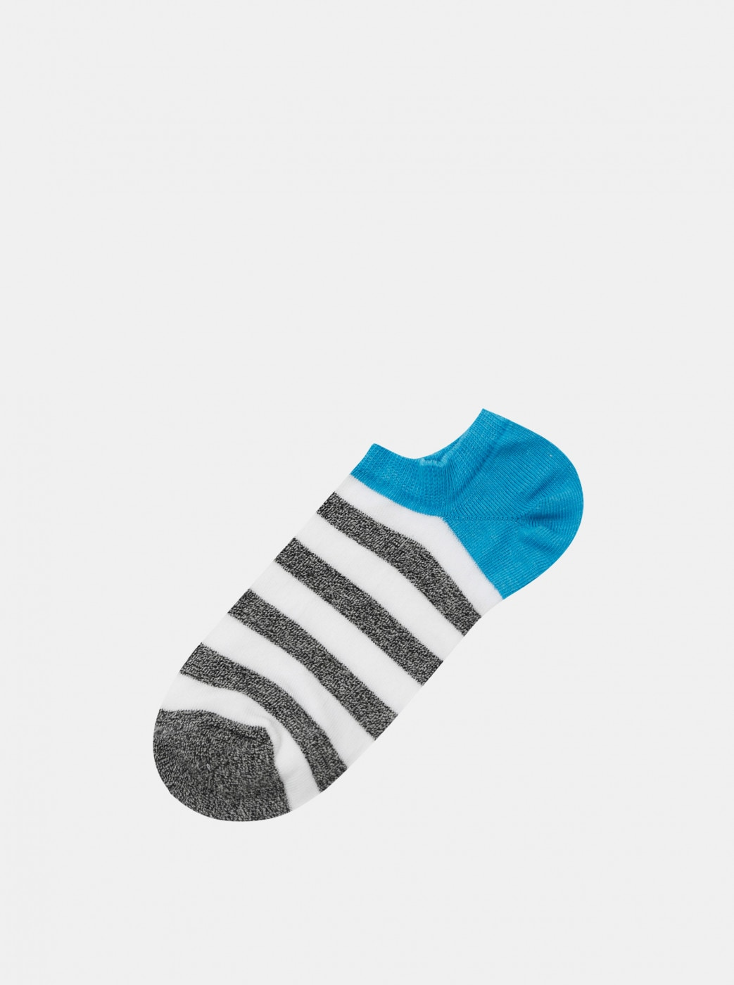 Marie Claire Blue-White Striped Socks