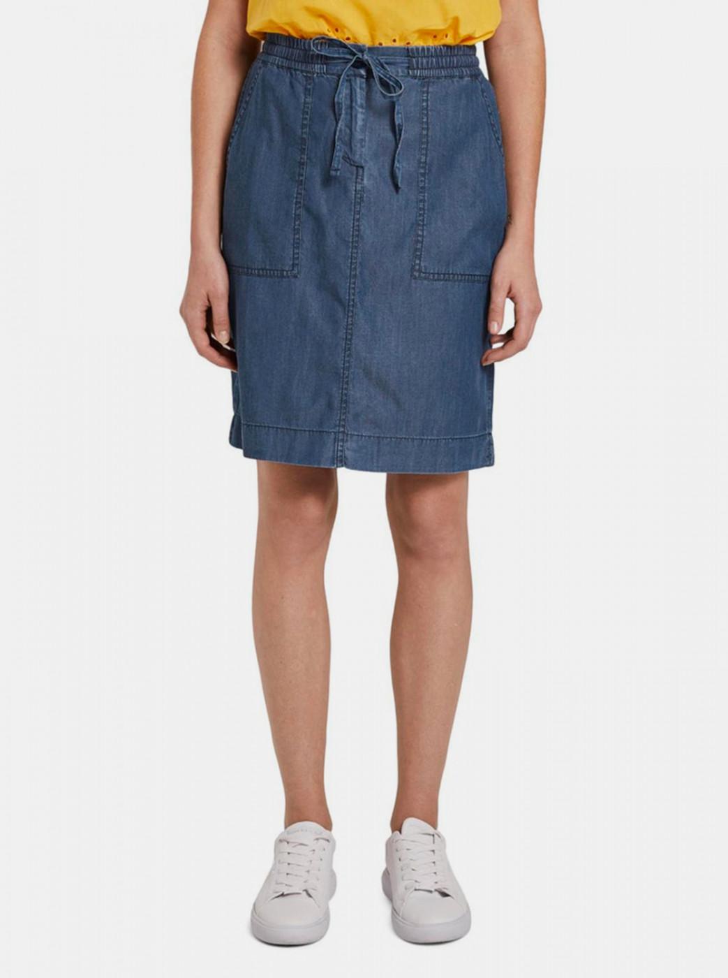 Tom Tailor Blue Women's Denim Skirt