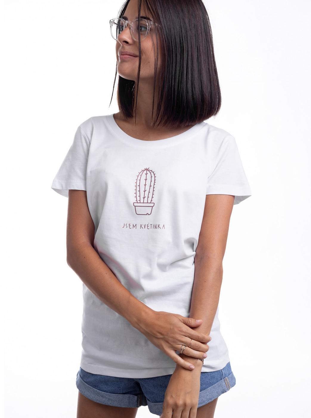White Women's T-shirt Zoot Original I'm A Flower