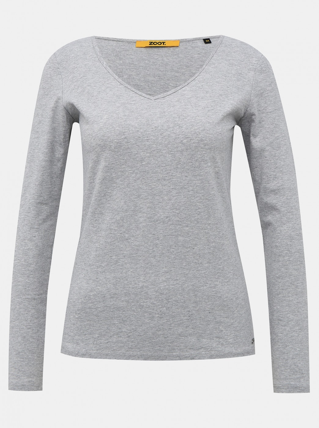 Light Grey Women's Basic T-Shirt ZOOT Baseline Tamara