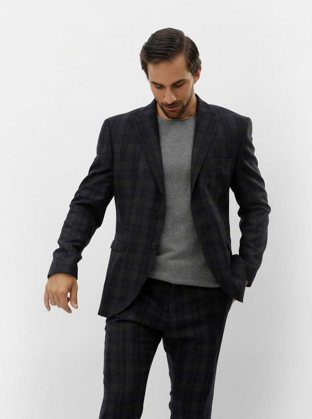 Selected Homme Navy Suit