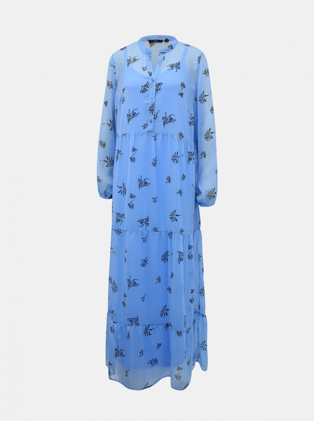 Blue floral maxi dress VERO MODA Lila