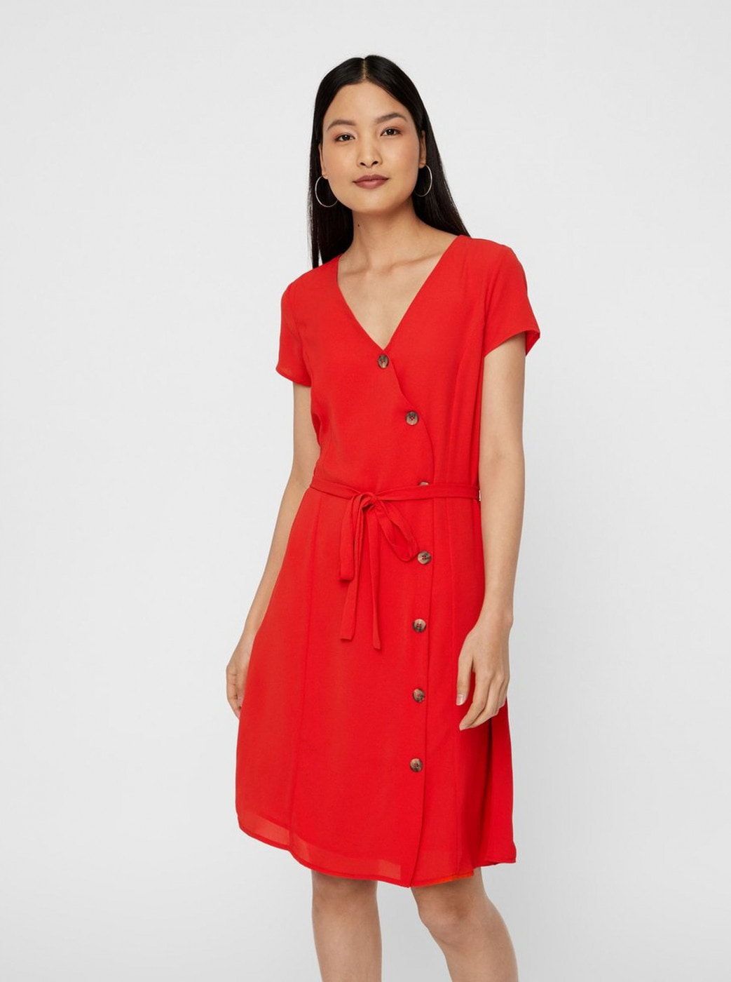 Red Dress VERO MODA Annika