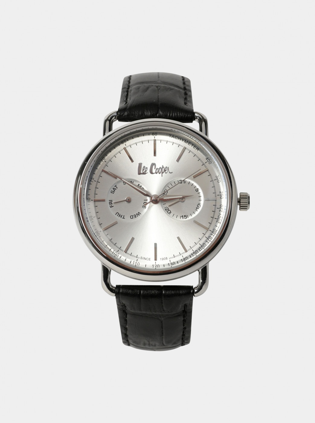 Lee Cooper Men's Watch with Black Leather Belt