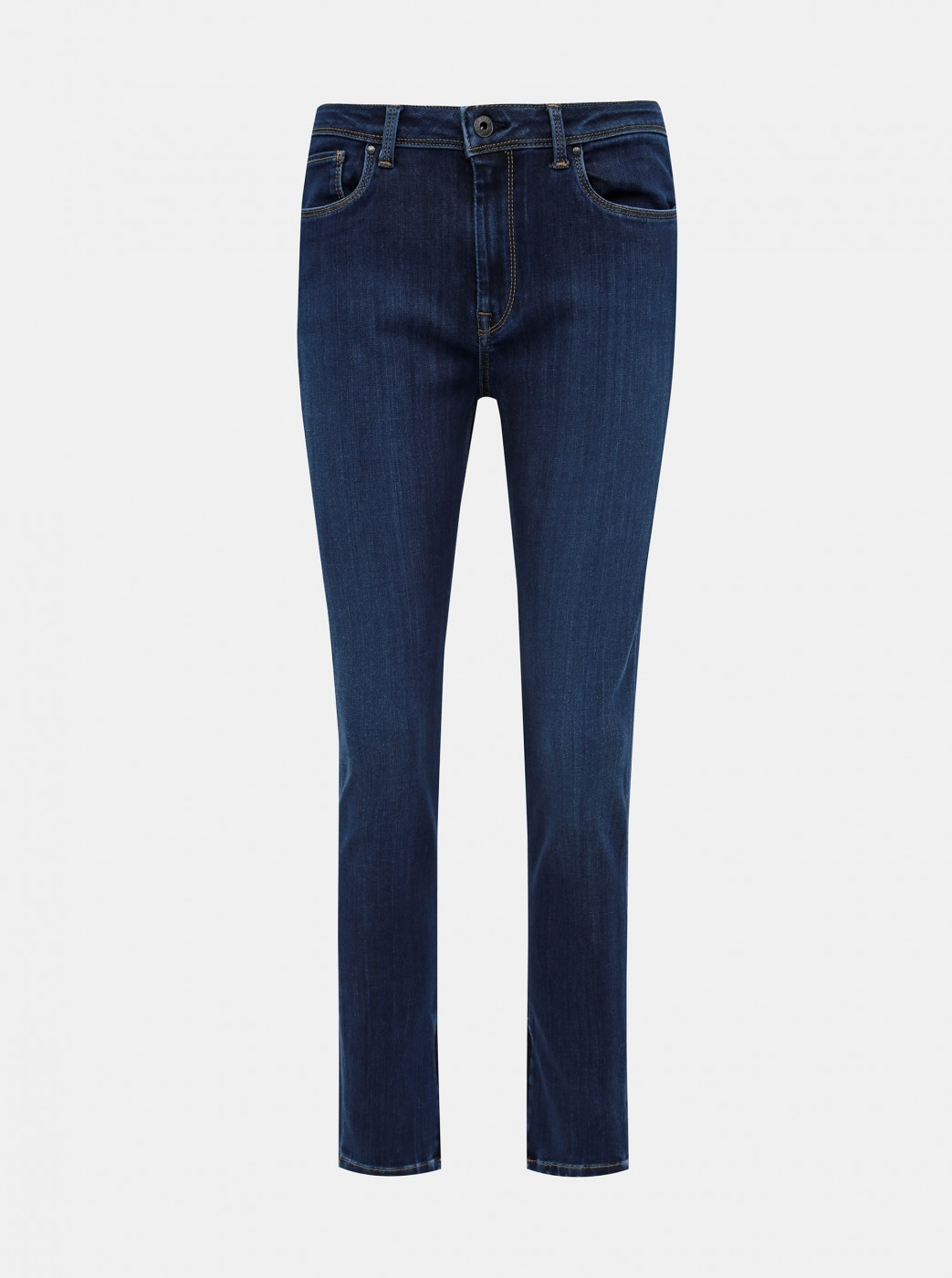 Dark Blue Women's Skinny Fit Jeans Pepe Jeans Cher High