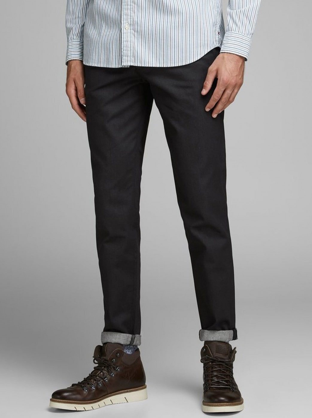 Black Chino Pants Jack & Jones Ace