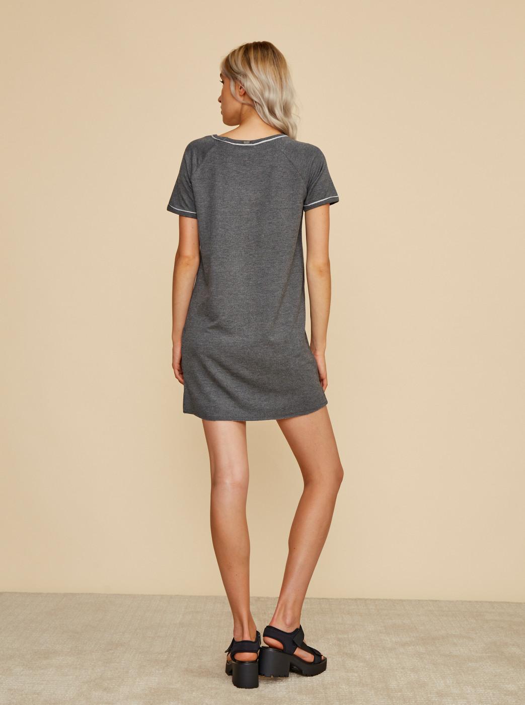 Zoot Baseline Millie Grey Sweatshirt Basic Dress