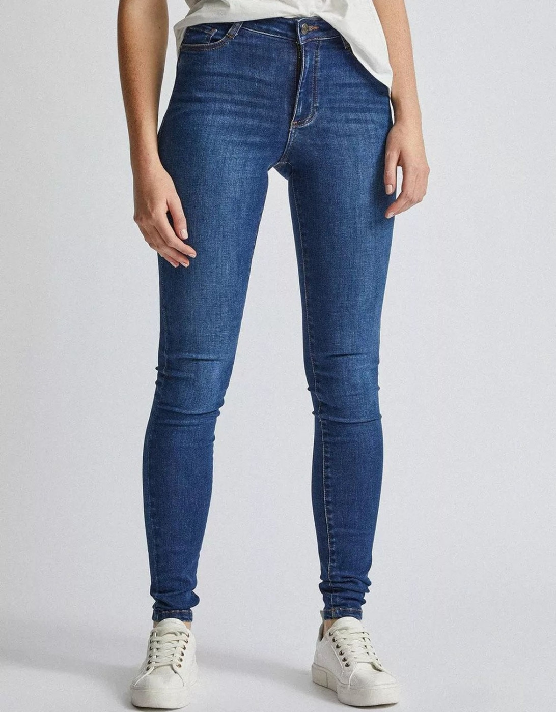 Blue Skinny Fit Jeans Dorothy Perkins Tall