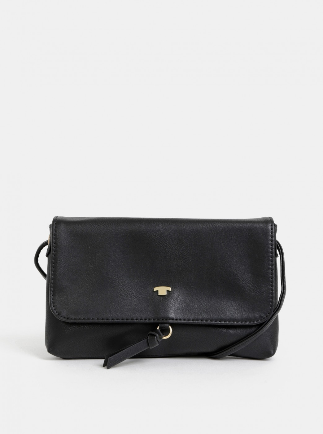 Tom Tailor Luna Black Crossbody Handbag