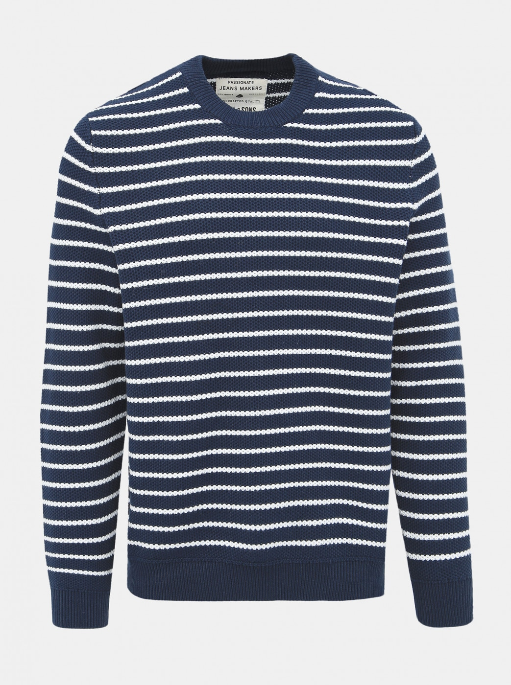 Dark blue striped sweater ONLY & SONS Dave