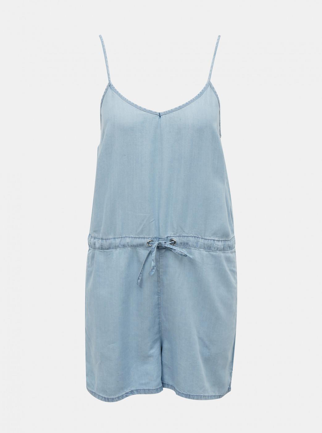 Light Blue Short Jumpsuit ONLY Mikka