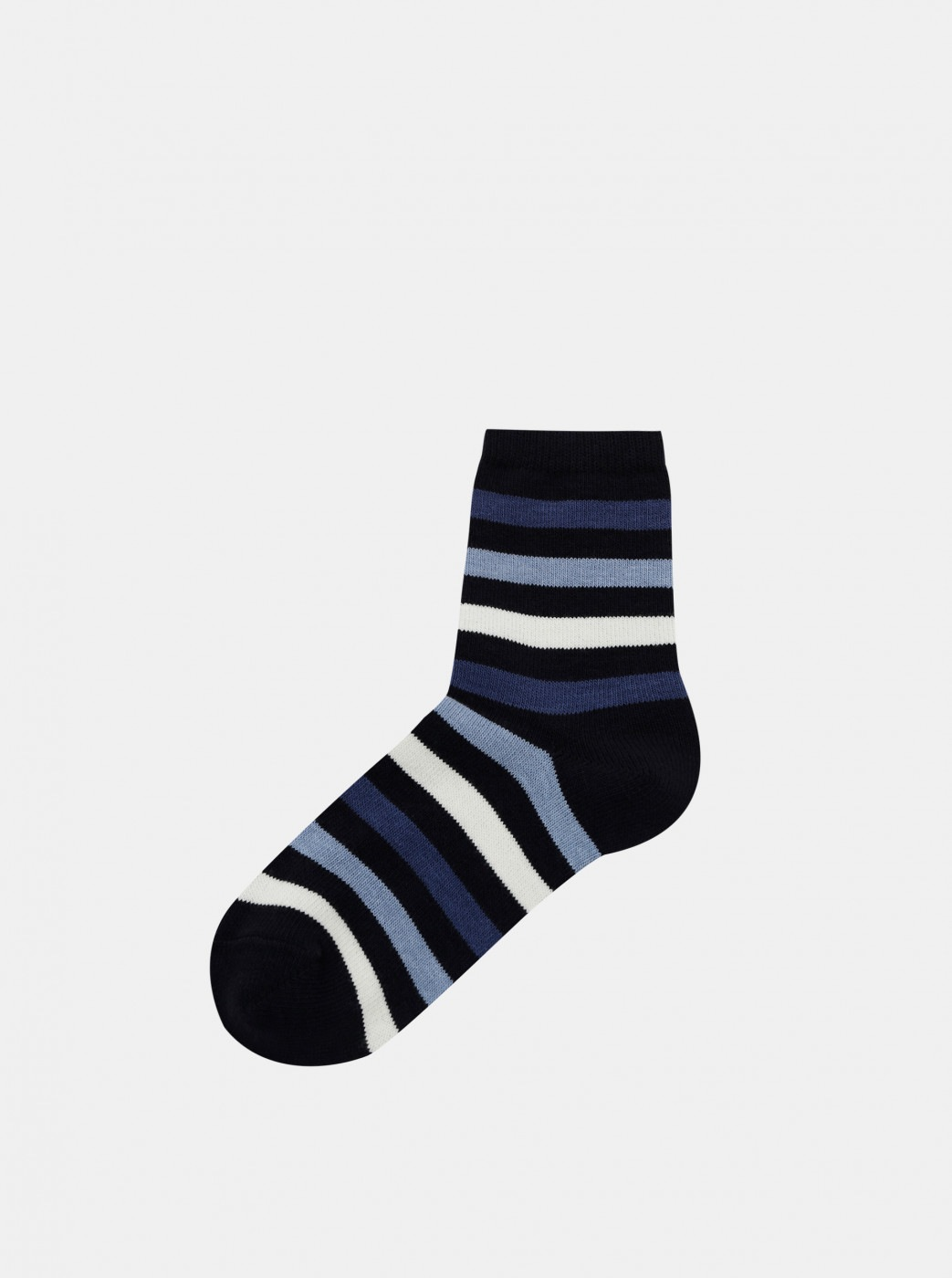Marie Claire Blue Striped Socks