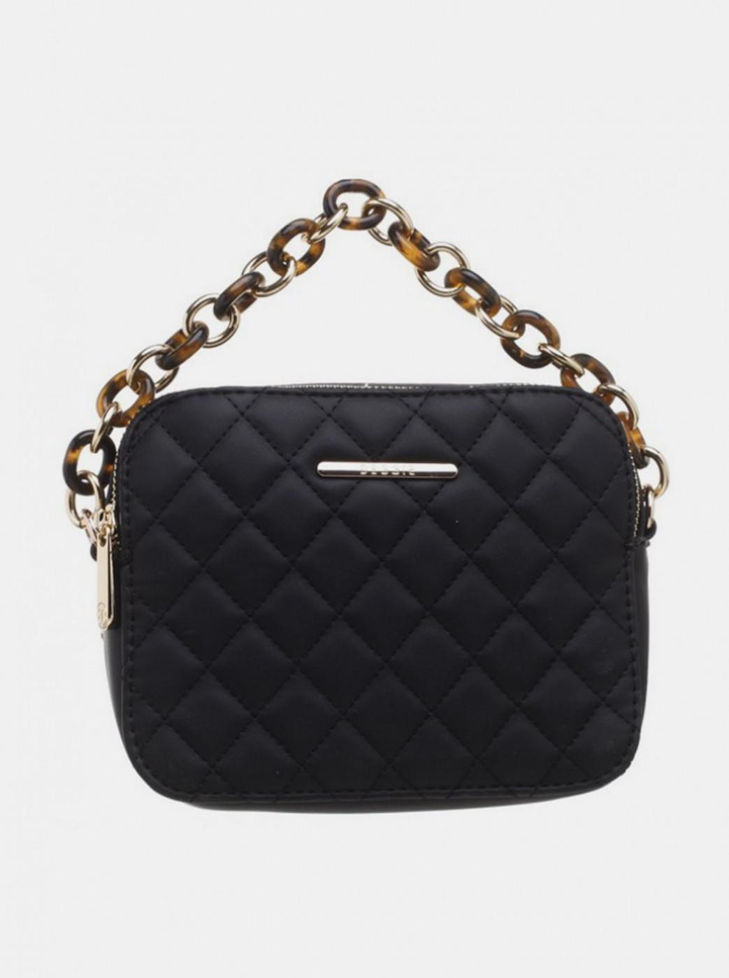 Bessie London Black Small Handbag