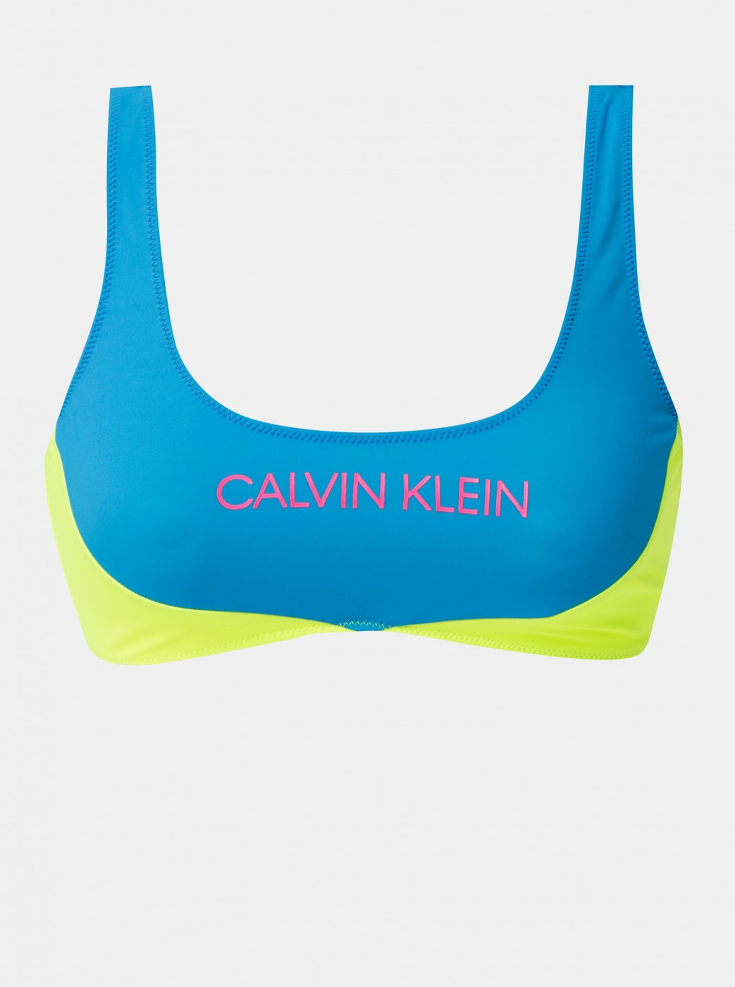 Calvin Klein Underwear Yellow-blue Top