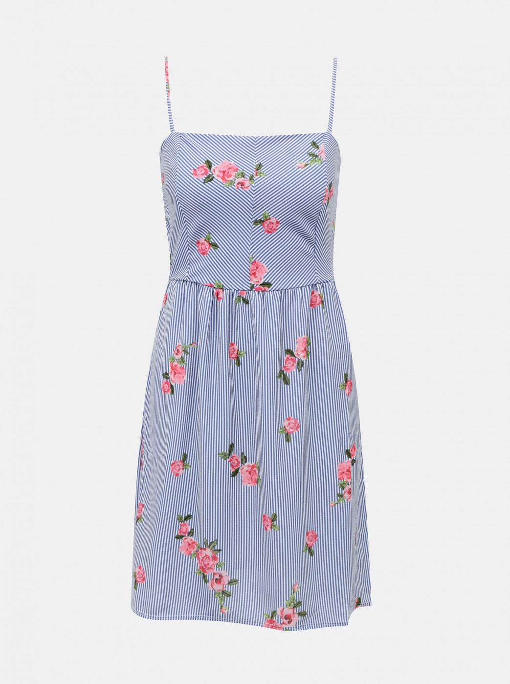 Haily's Rose Blue Floral Dress