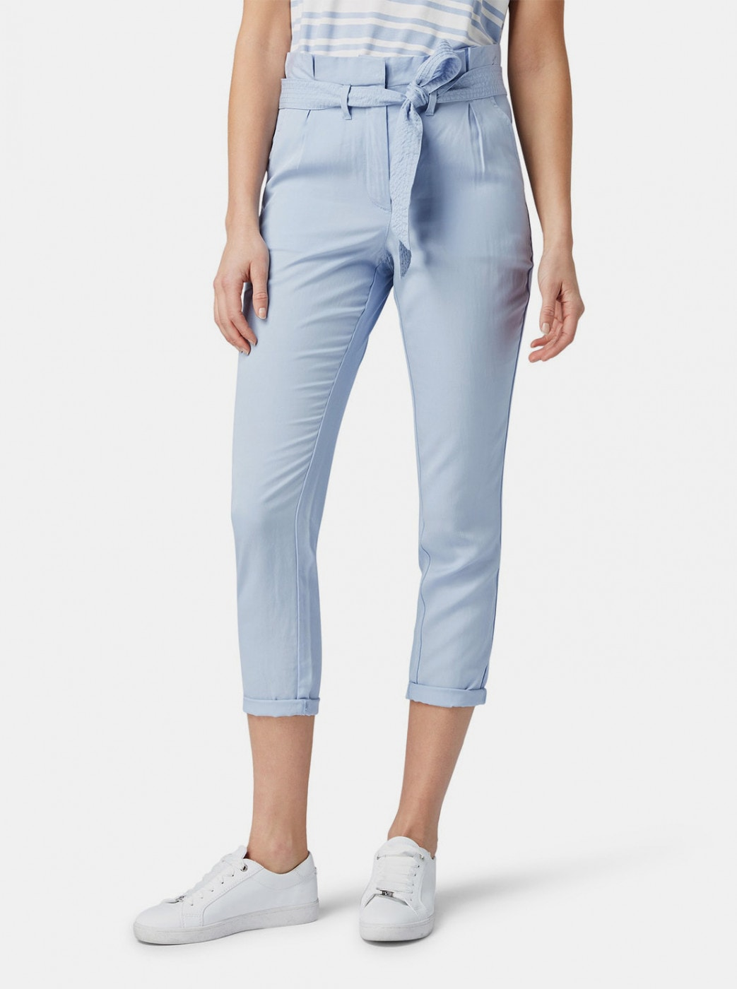 Tom Tailor Blue Women's Cropped Pants