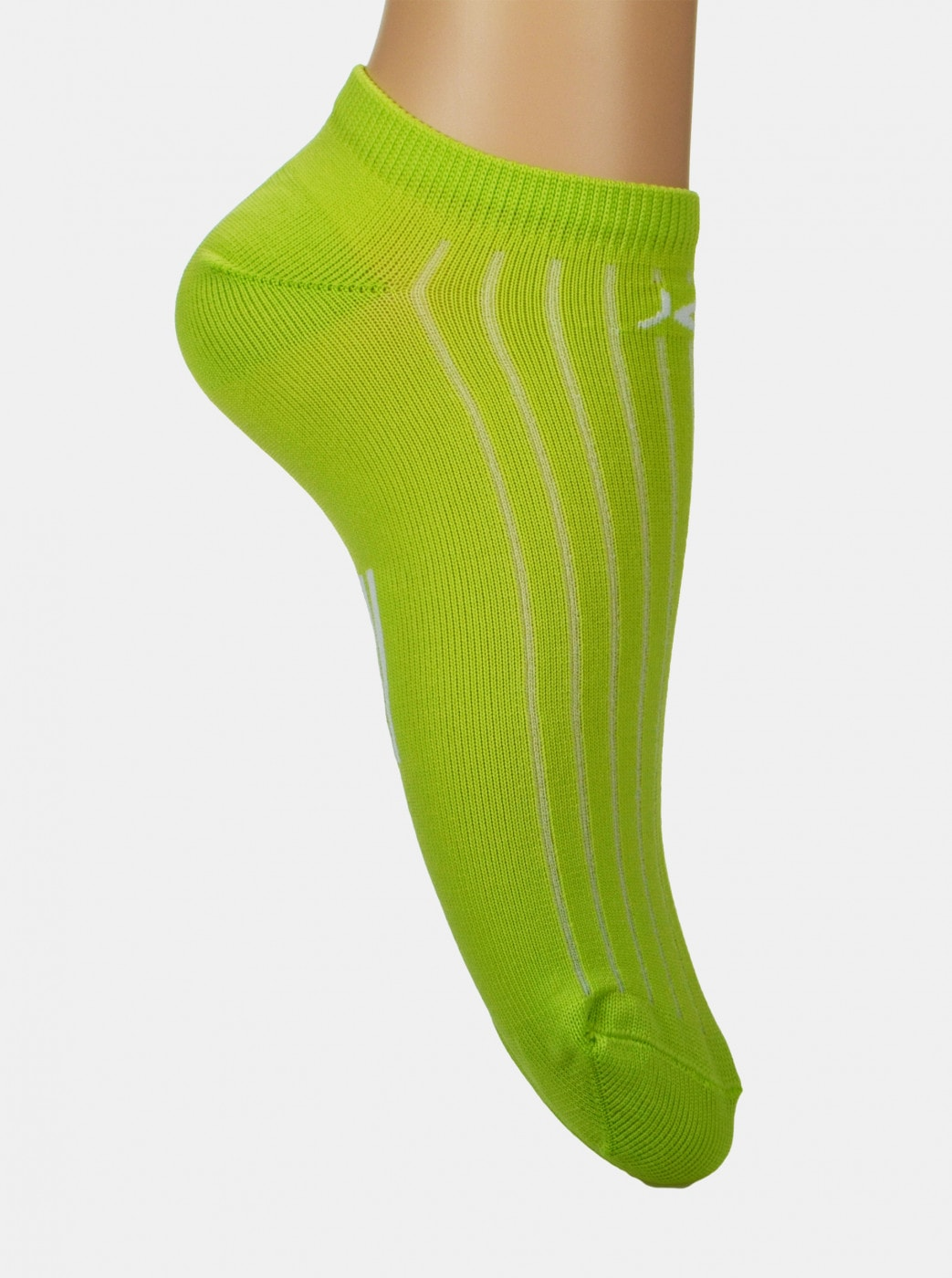 Marie Claire Green Ankle Socks