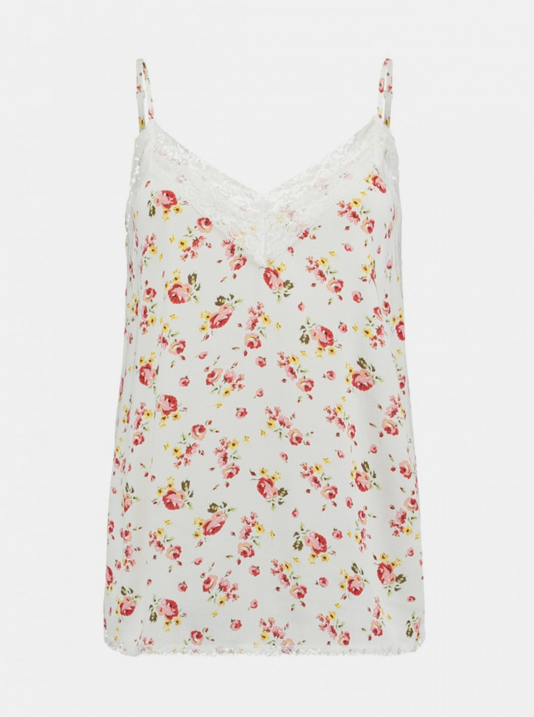 White floral top Haily ́s Salina