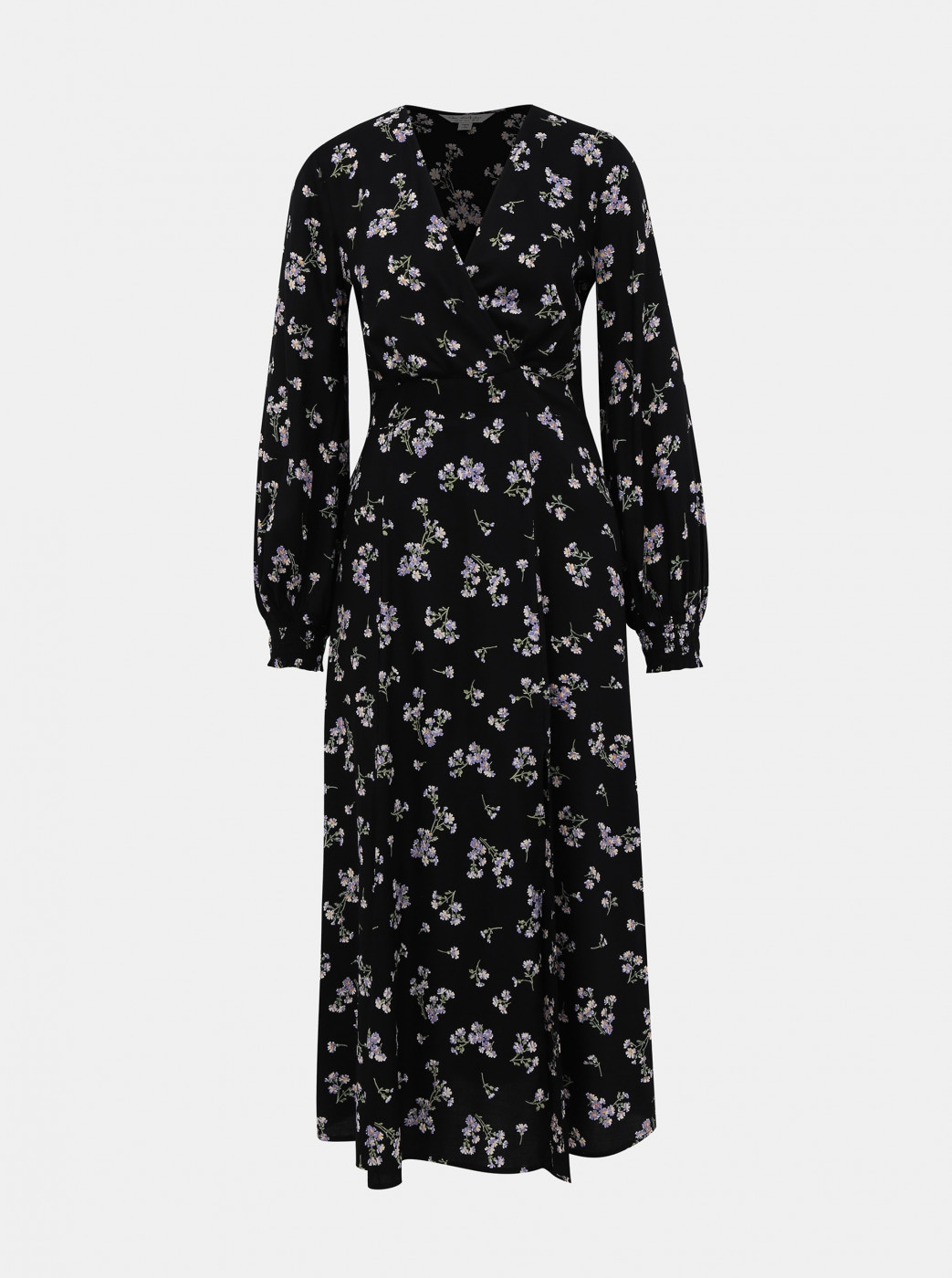 Miss Selfridge's Black Floral Maxi Dress