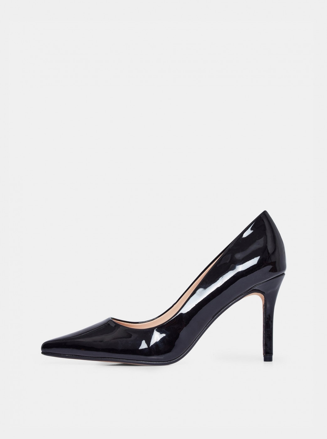 Dorothy Perkins Black Shiny Boat