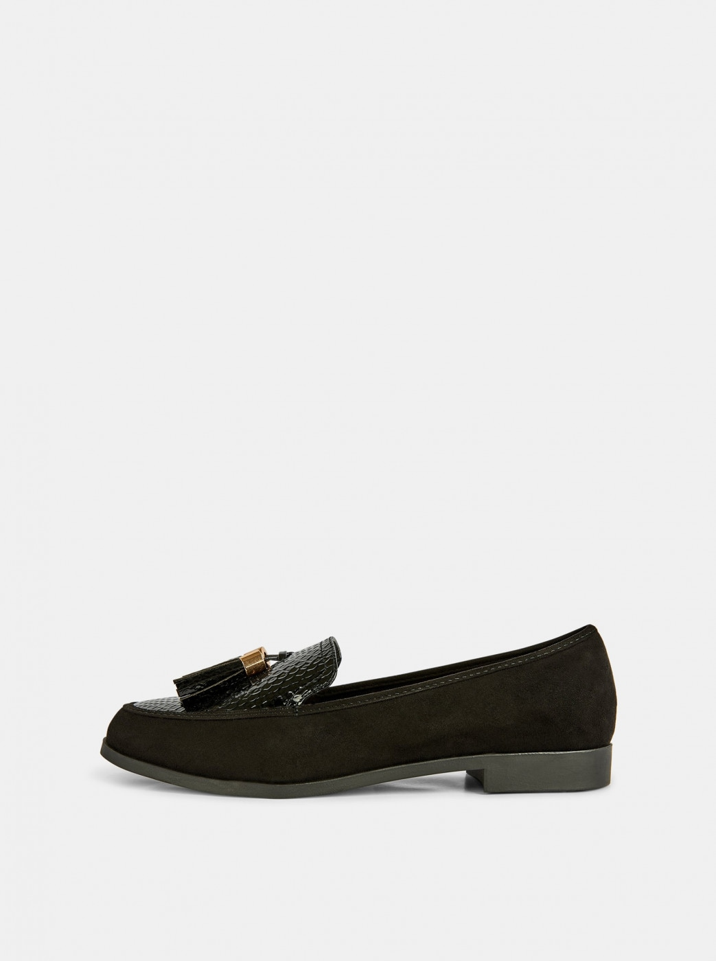 Black loafers in suede finish by Dorothy Perkins