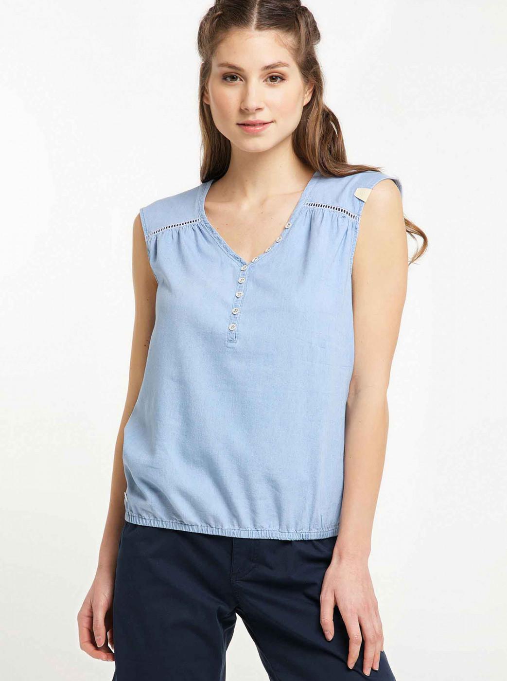 Light Blue Ragwear Top
