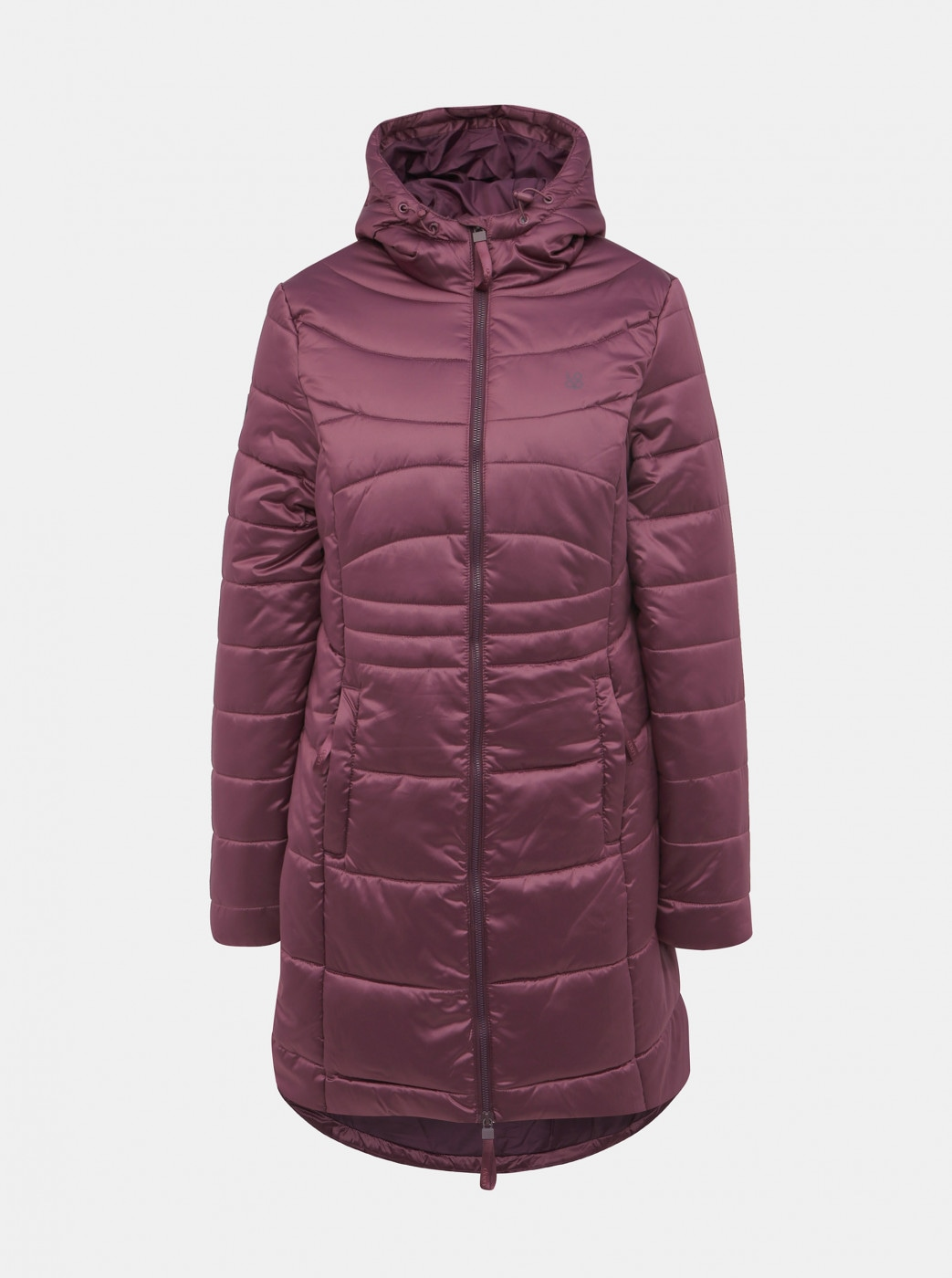 Purple Women's Winter Quilted WaterRepellent Coat LOAP Takita