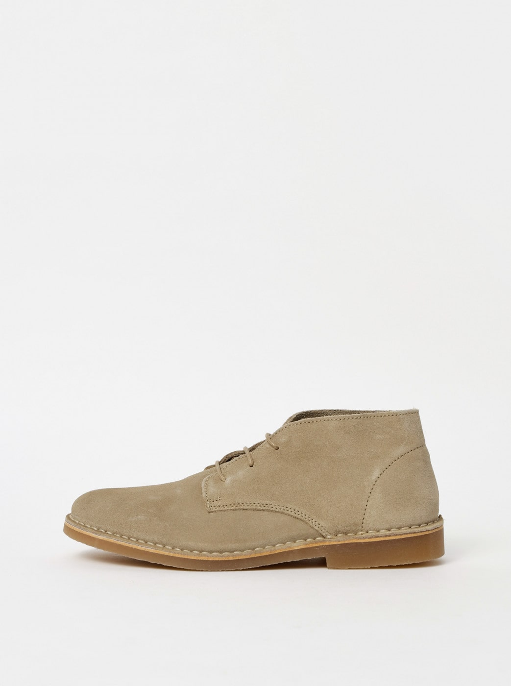 Beige Men's Suede Ankle Boots Selected By Homme Royce