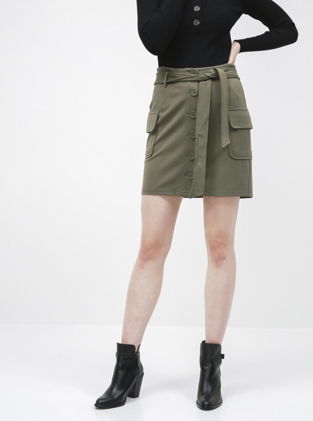Noisy May Hipe Green Skirt