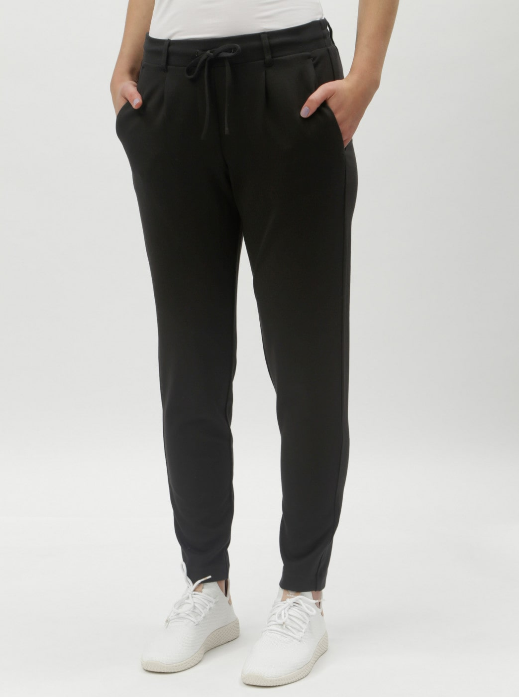 Tom Tailor's Black Women's Pants with Elastication