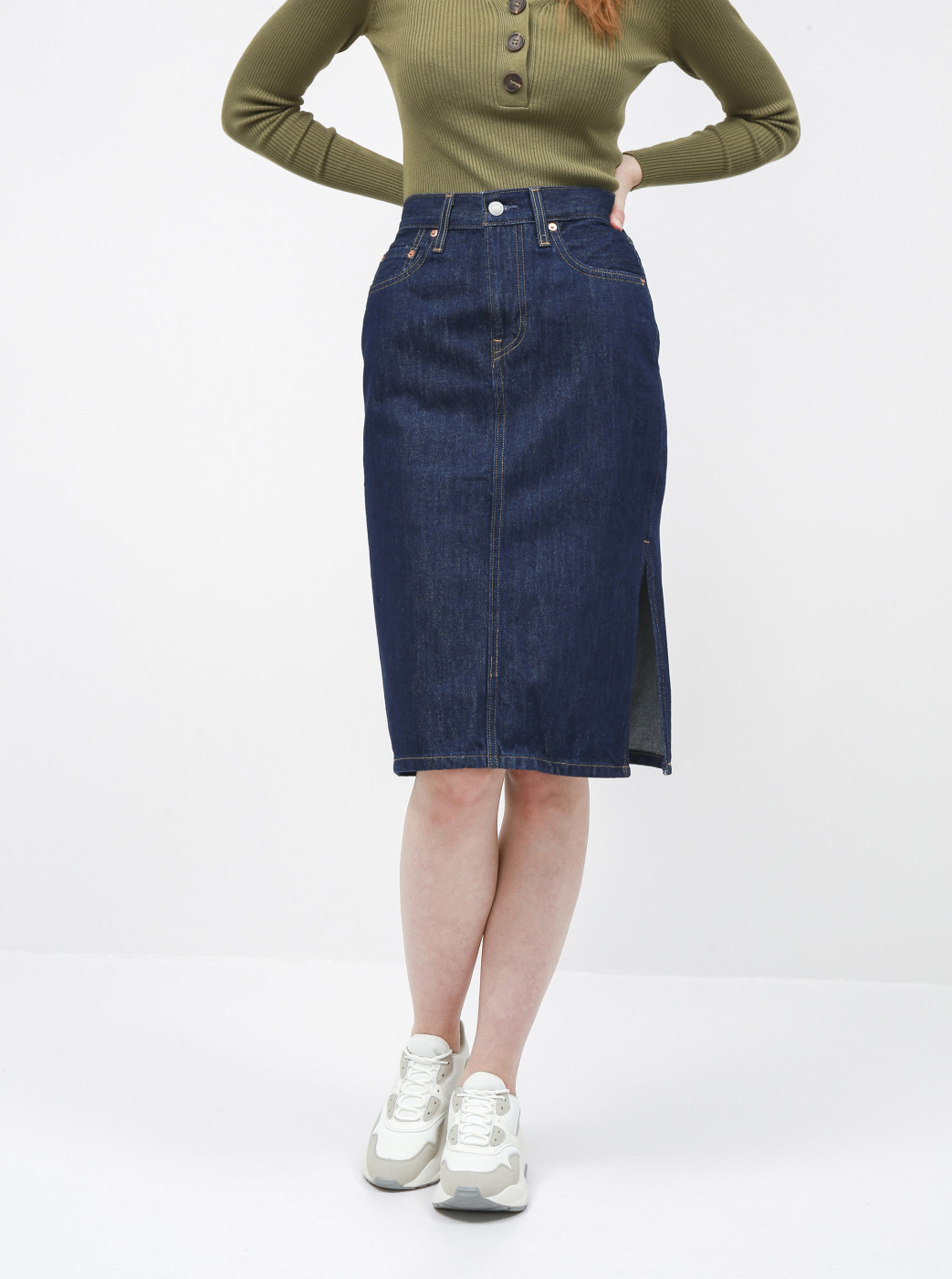 Levi's® Dark blue denim skirt Levi's