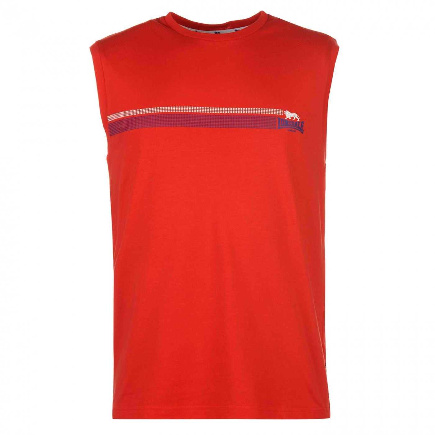 3153858c5450 Lonsdale Sleeveless T Shirt Mens - FACTCOOL