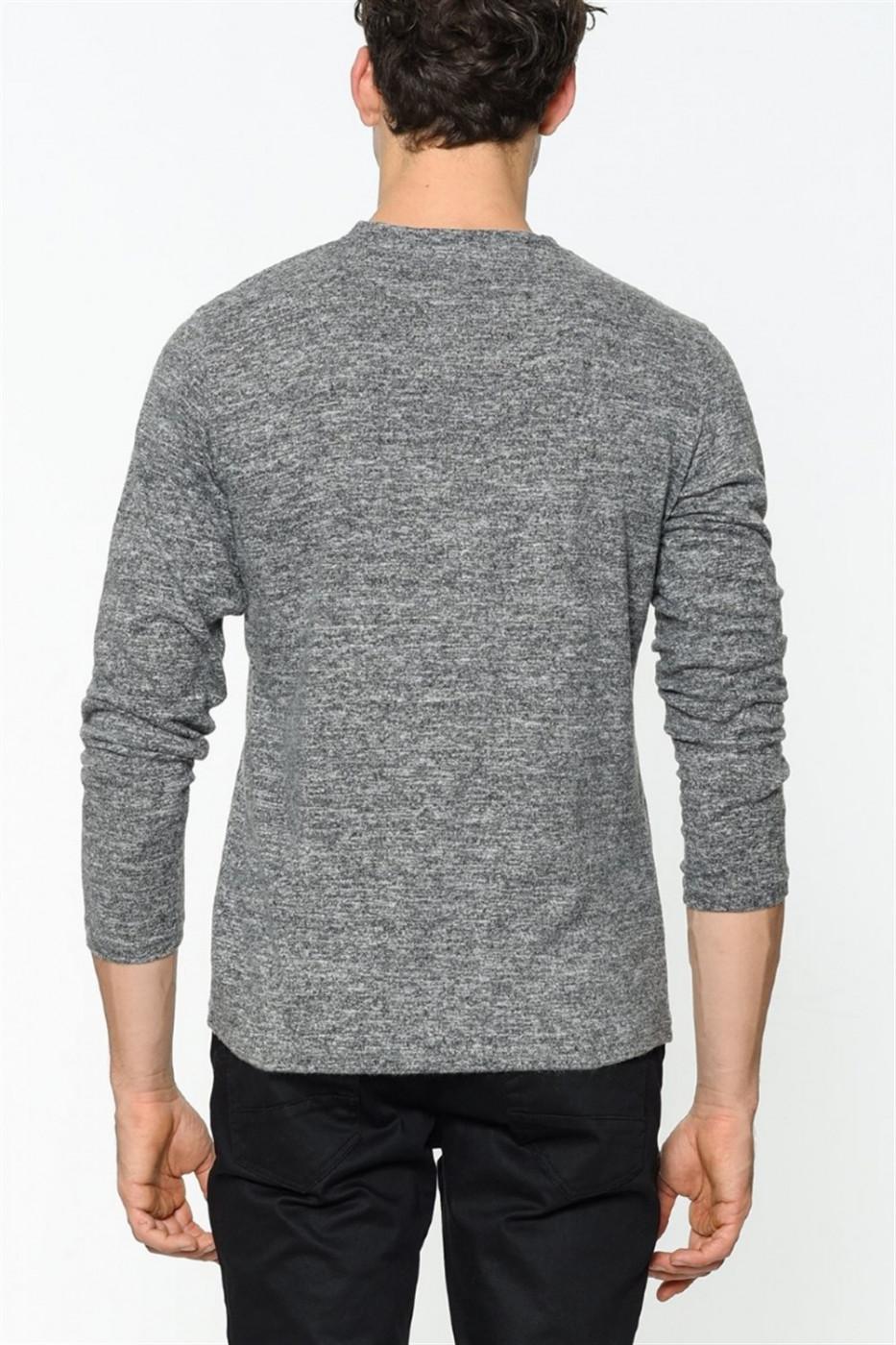 1019 Dewberry Men's Sweatshirt-anthracite