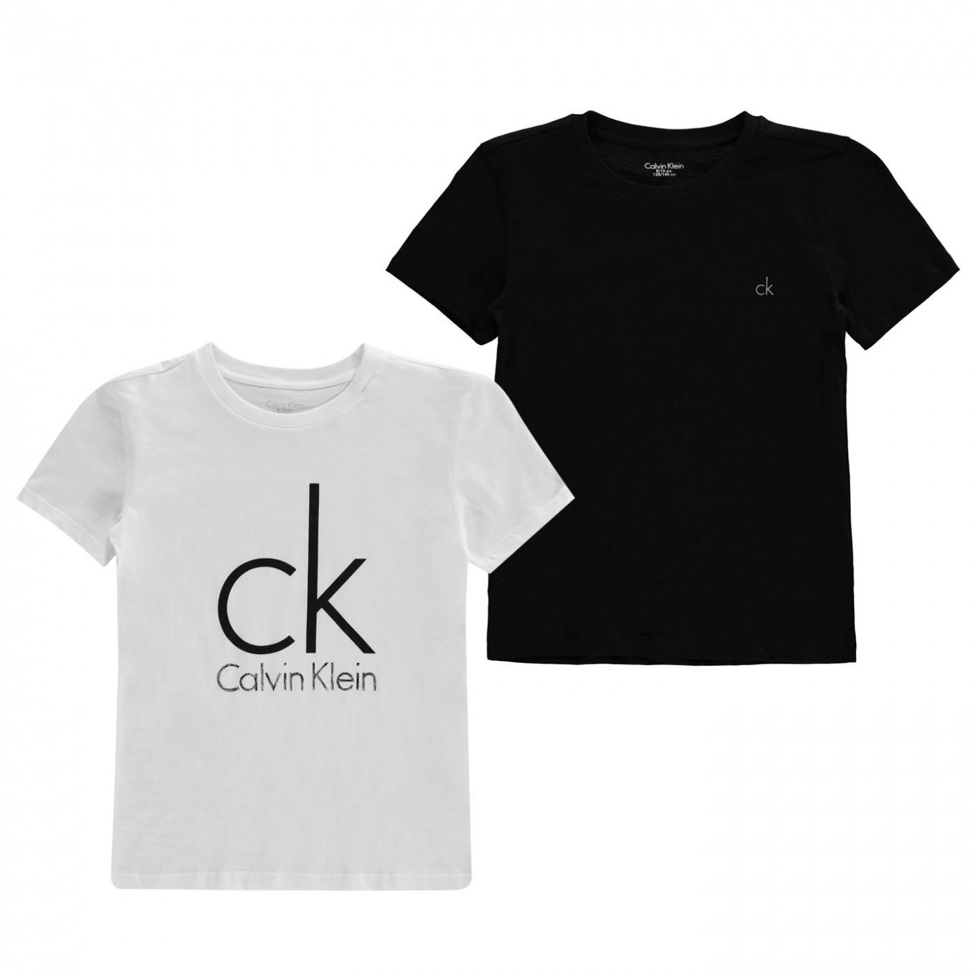3f76fefd3ba Calvin Klein CK 2PK Logo T JN00 - ALIATIC