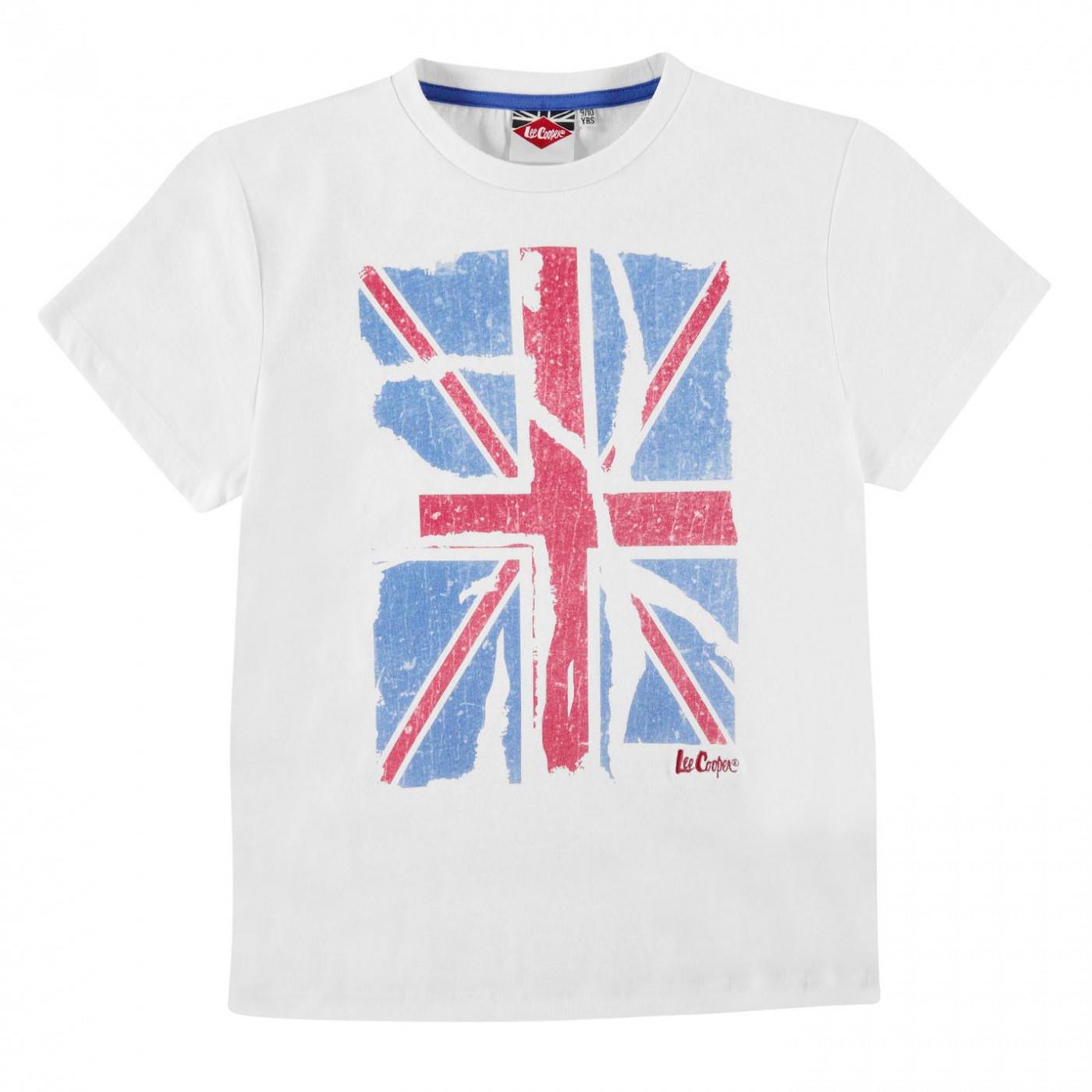 8cf4bc574 Lee Cooper LDN Graphic T Shirt Junior Boys - FACTCOOL