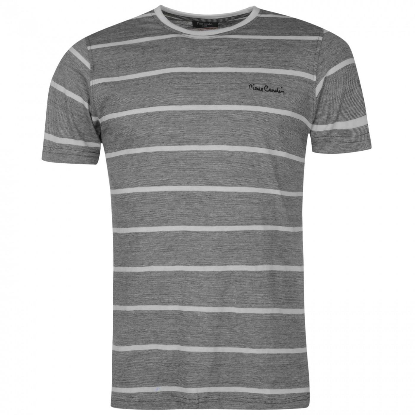 08b239247f95 Triko Triko Pierre Cardin Slub Striped T Shirt pánské - FACTCOOL