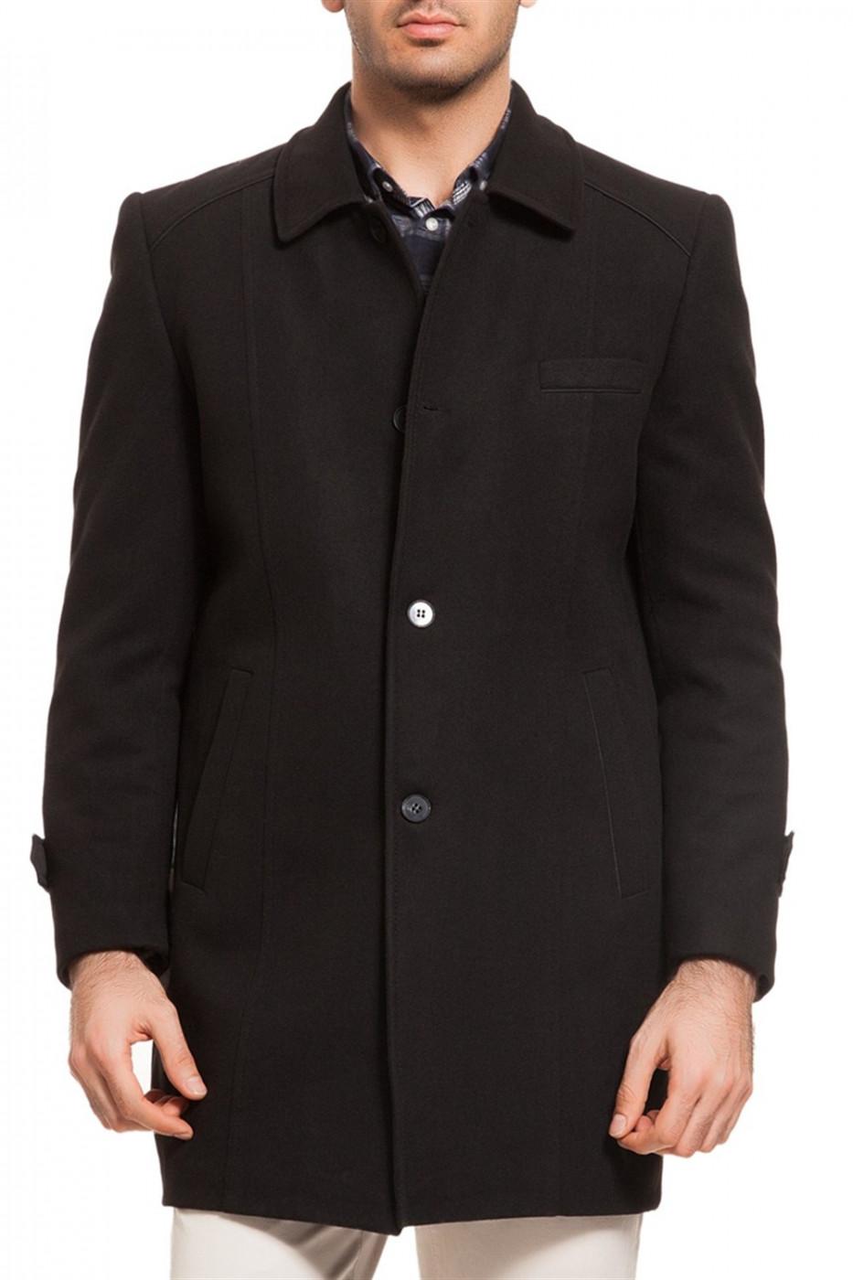 PLT7226 DEWBERRY BATTAL COAT-BLACK