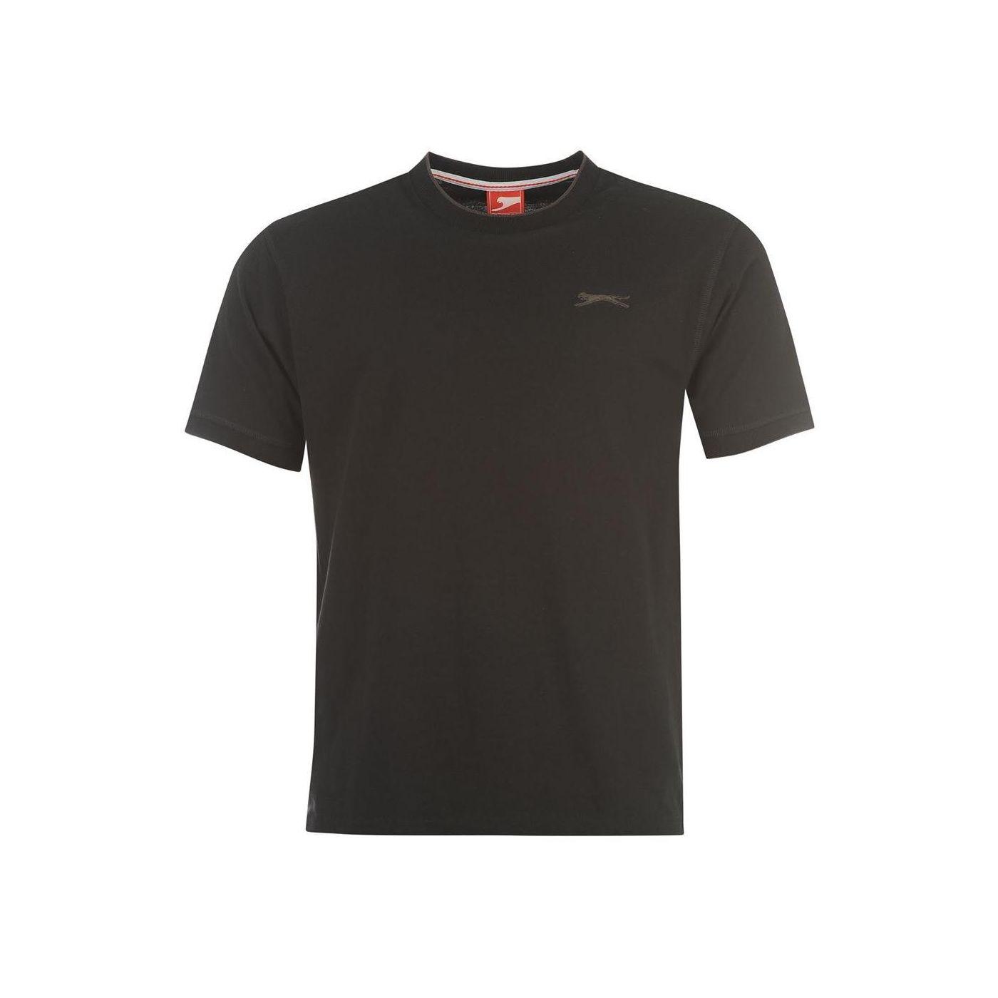 Triko Triko Slazenger Tipped T Shirt pánske