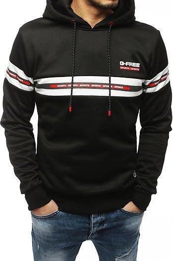 Black men's hoodie BX4349