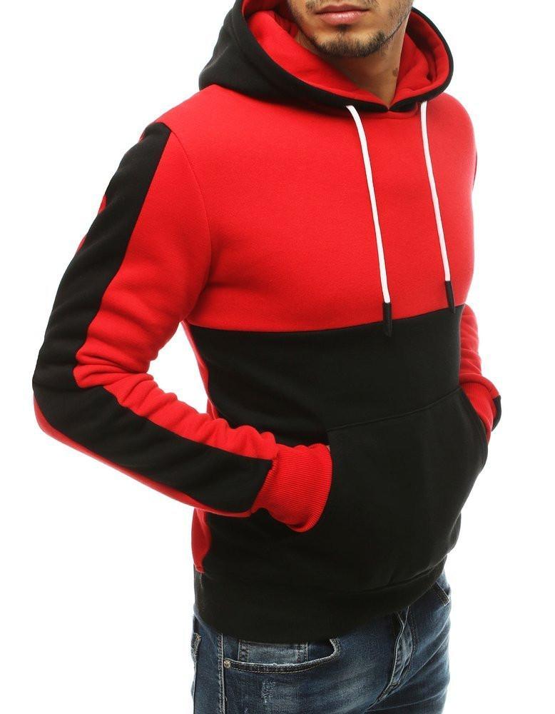 Black men's hoodie BX4653