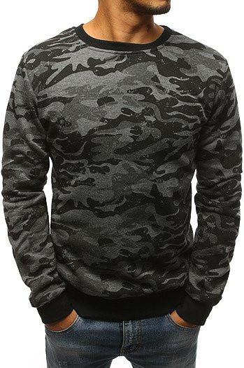 Men's camo sweatshirt anthracite BX3677