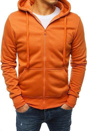 Orange men's hoodie BX4500